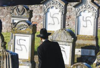 גילוי אנטישמיות בקברי יהודים בצרפת