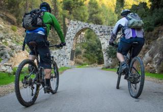 רכיבת אופניים ביער הקדושים