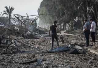 בין היעדים: אתרים לייצור אמצעי לחימה של חמאס
