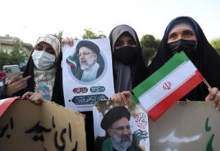 עצרת בחירות באיראן