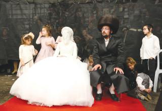 חתן וכלה מהיהדות האורתודוכסית