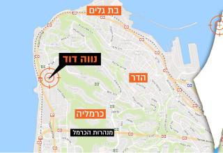 מפת חיפה