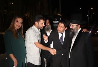 אילנית לוי, אלירז שדה, הרב איפרגן, מרדכי חסידים
