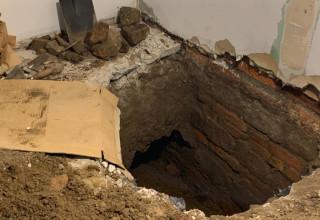 המקום בו התגלו העצמות של קורבנות גטו ורשה
