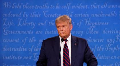 טראמפ בעימות(צילום: טראמפ בעימות)