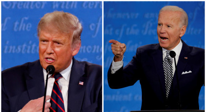 ג'ו ביידן, דונלד טראמפ(צילום: ג'ו ביידן, דונלד טראמפ)