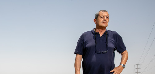 """קובי הרוש, נהגו לשעבר של רה""""מ אריאל שרון"""