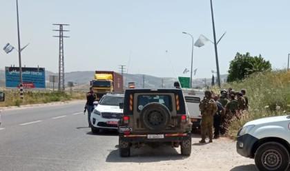 זירת ניסיון הפיגוע בשומרון (צילום: TPS) TPS