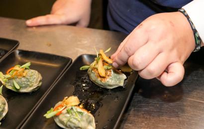 ארוחת קיימות בטאיזו