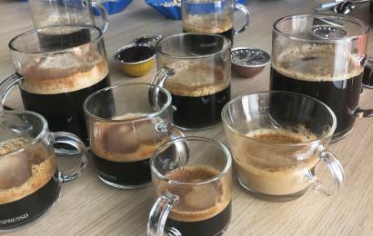 כמו בענף היין. מבחן טעימות קפה נספרסו