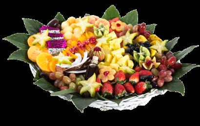 מגש פירות(צילום: פרי גנך)
