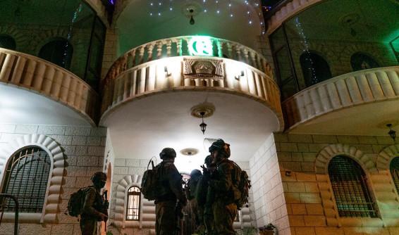 """כוחות צה""""ל מיפו את בית המחבל שביצע את הפיגוע בצומת תפוח"""