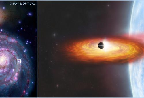 סימנים לקיומו של כוכב לכת בגלקסיה אחרת