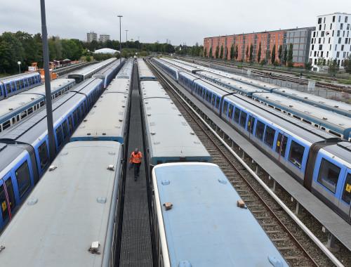 שביתת רכבות בגרמניה