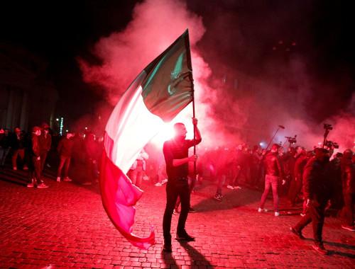 הפגנות נגד ההגבלות החדשות באיטליה