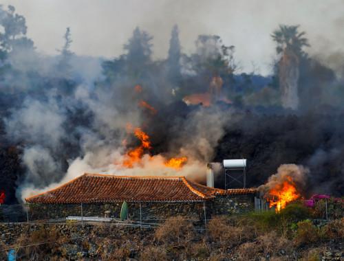 התפרצות הר הגעש בלה פלמה