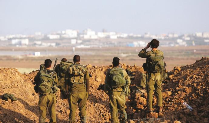 חיילים במהלך צוק איתן