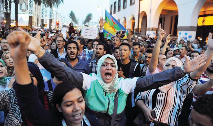 הפגנות במרוקו,