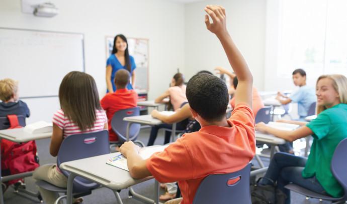 ילדים בכיתה, אילוסטרציה