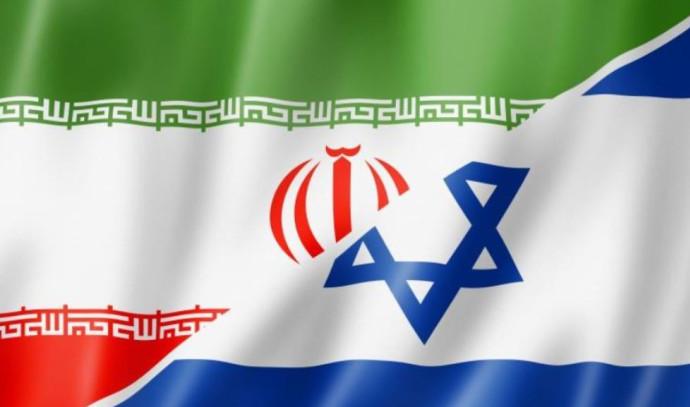 דגלי ישראל ואיראן