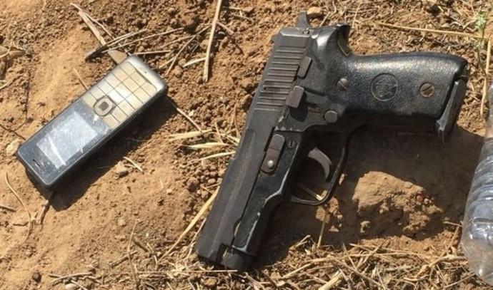 נשק שנתפס אצל המחבלים