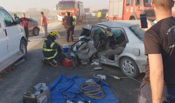 התאונה ליד משאבי שדה