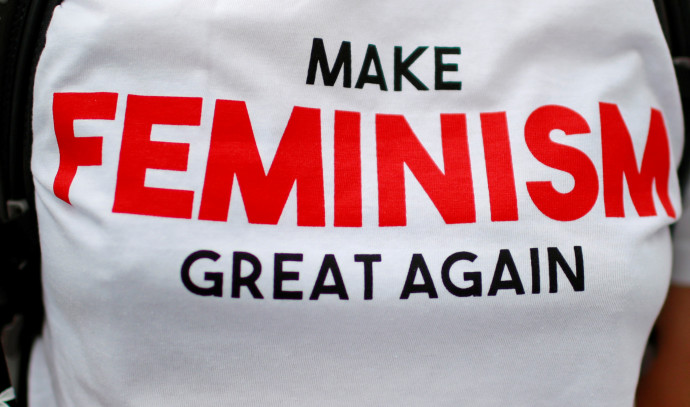 חולצה פמיניסטית