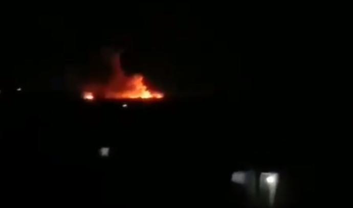 פיצוץ סמוך לחלב, סוריה