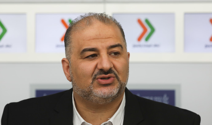 Mansour Abbas and Yair Lapid met