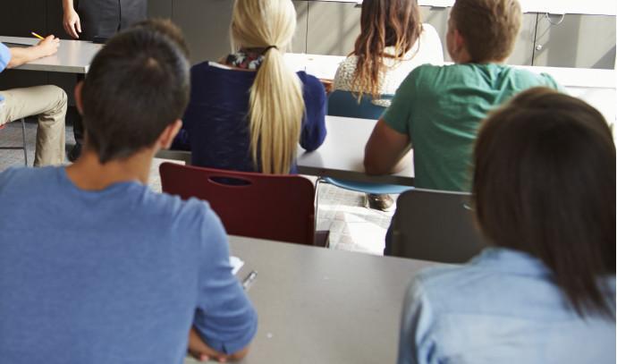מורה בכיתה, אילוסטרציה (למצולמים אין קשר לנאמר בכתבה)