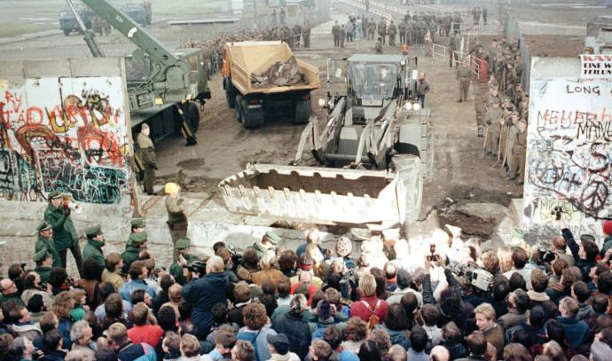 נפילת חומת ברלין
