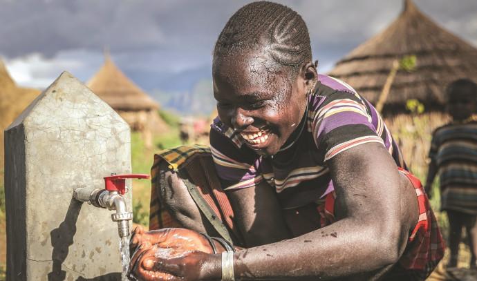 אחד מבין 250 מתקנים שעוזרים ליותר מ-1.5 מיליון איש באפריקה