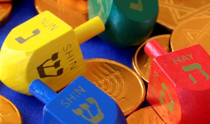 מטבעות שוקולד וסביבונים