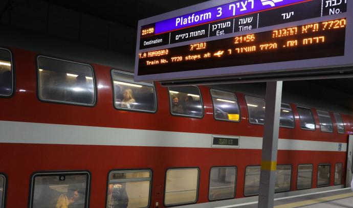 קו הרכבת המהיר בין ירושלים לתל אביב
