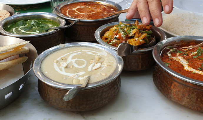 אוכל ואלכוהול בהודו
