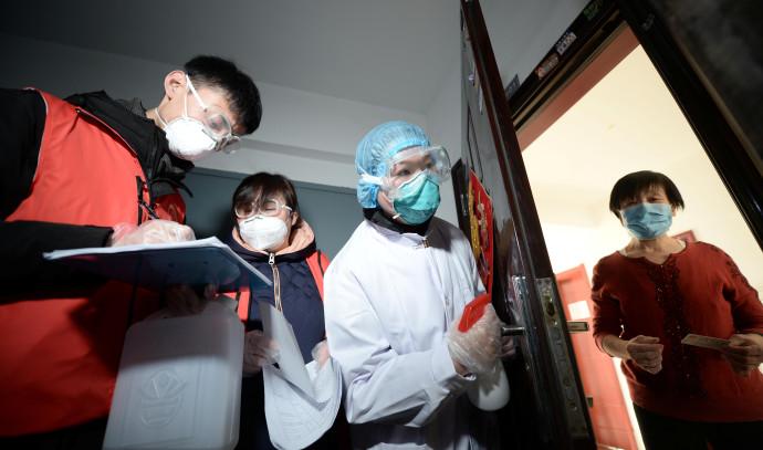 המאבק בקורונה בסין