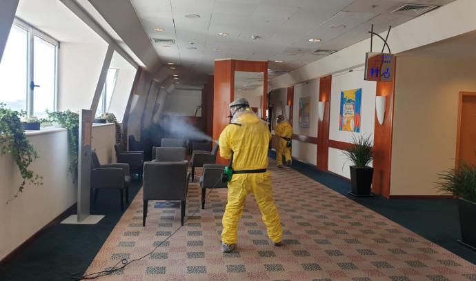חיטוי מלון דן פנורמה