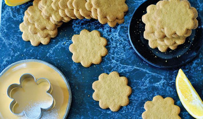 עוגיות פריכות בניחוח תפוז