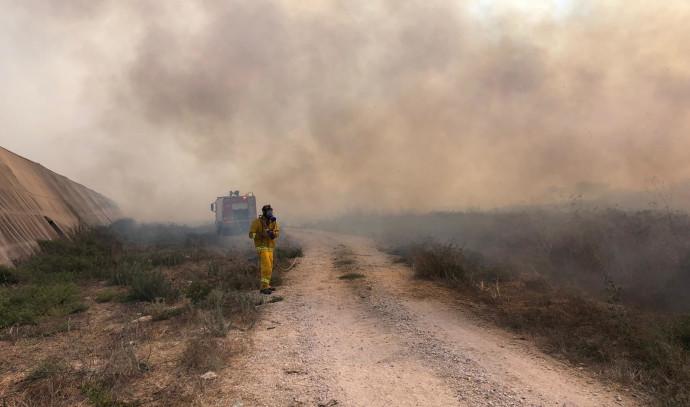 השריפה בחוף הבונים