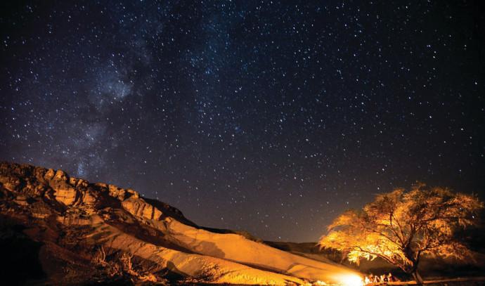 תצפית כוכבים בהר הנגב