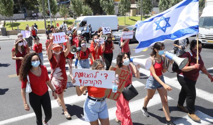 הפגנות ברחבי הארץ בעקבות האונס באילת