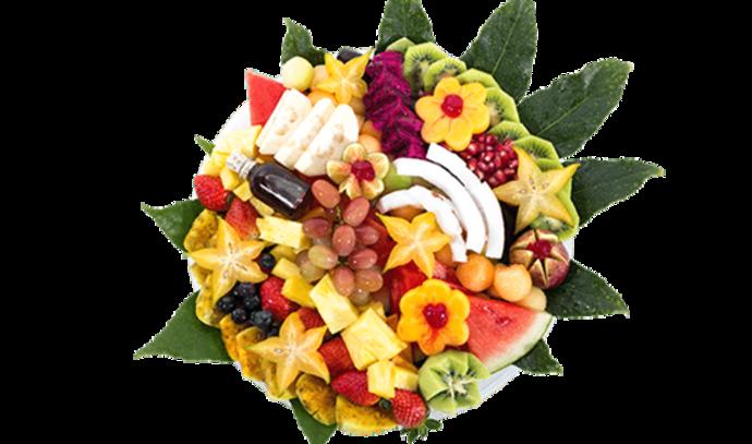 סלסלת פירות(צילום: פרי גנך)