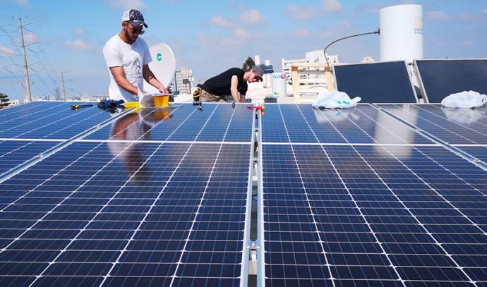 מערכת סולארית(צילום: אנרפוינט מערכות סולאריות)