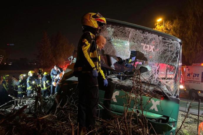 ארבע וחצי שנות מאסר נגזרו על נהג האוטובוס שגרם למותם של ארבעה