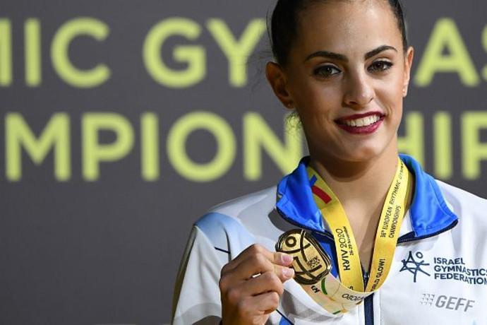 עוד הישג: לינוי אשרם זכתה במדליית זהב בגמר גביע העולם