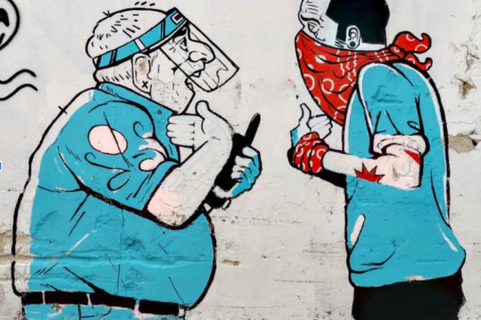 הפנים מאחורי ציורי הקיר שמשגעים את נווה צדק