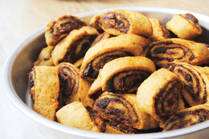 מחפשים תחליף לאוזני המן? נסו את עוגיות המקרוט הצפון-אפריקאיות