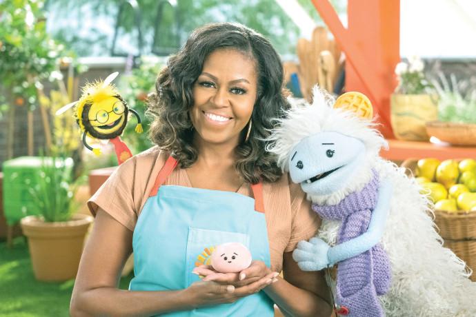 במנות קטנות: מישל אובמה בתוכנית חדשה לנטפליקס המעודדת תזונה נכונה