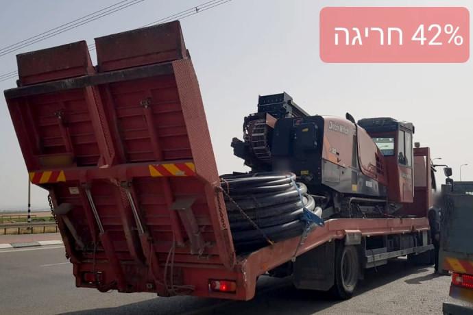 בהפרש של מספר דקות: שתי משאיות של אותה חברה נתפסו עם מטען חורג