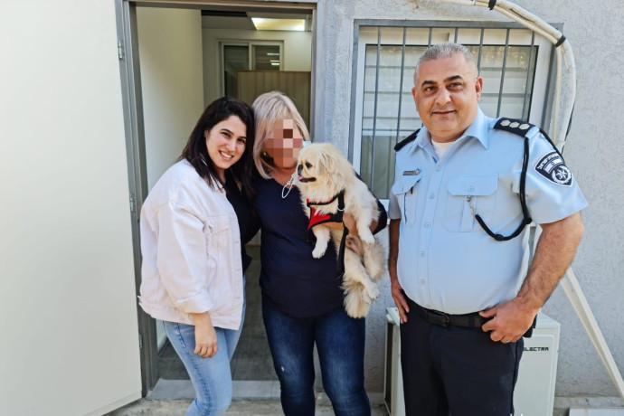 סוף טוב: המשטרה איתרה כלב פקינז שגנב בשפרעם והחזירה לבעליו